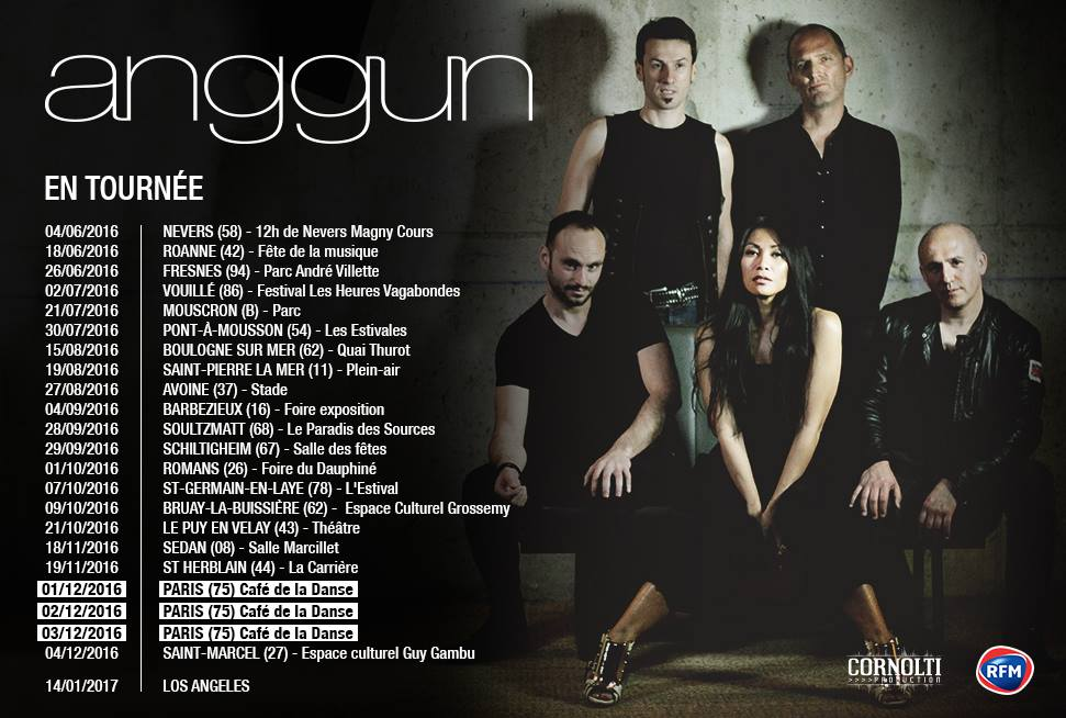Anggun - Tournée 2016